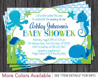 Under The Sea Baby Shower | Etsy