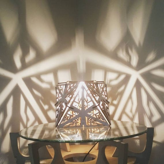 Octahedron - Shadow Lamp - Desk