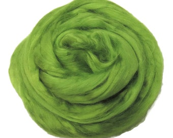 Viscose Fiber for felting ,spinning, paper making and art batts . color: Caipirinah