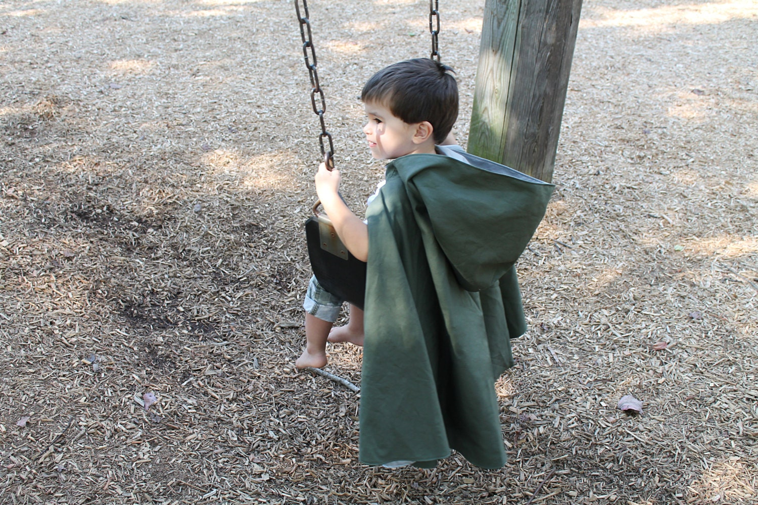 Reversible hooded kids cape sewing pattern toddler zoom jeuxipadfo Images