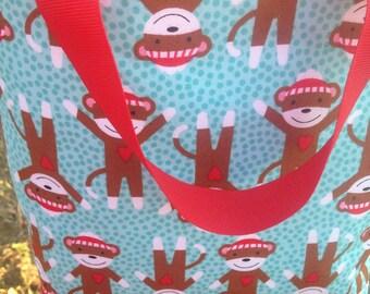 Monkey Tote Bag Ready to Ship