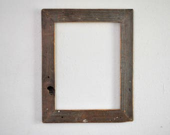 12 x 16 Gray Tongue and Groove Floor Board Frame, Weathered, Knotted, Re-purposed