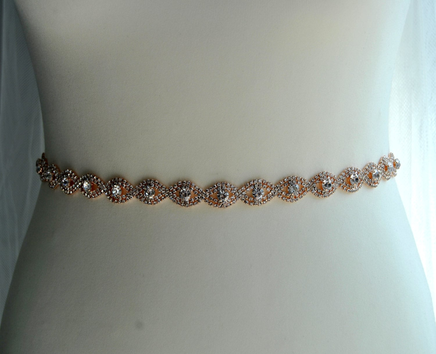 Jewelry belts for wedding dresses