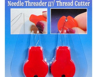20% OFF!!! 2 Pack Needle Threader & Thread Cutter - NEW!!!