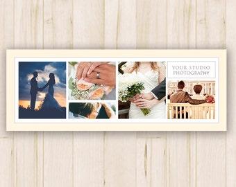 Facebook Timeline Cover - Timeline Cover Template - Facebook Wedding Photography Timeline Cover - Photoshop PSD *INSTANT DOWNLOAD*