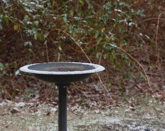 Birdbath Winter Stock Photography, Frozen Water