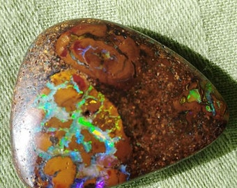 Magic Earthquake Boulder Opal-Yowah Nut from Queensland -Australia
