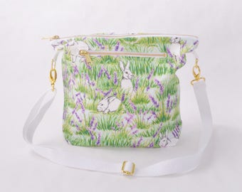 Purse - Bunny and Lavender