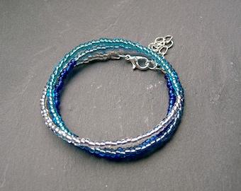 Summer Breeze Wrap Bracelet Beads