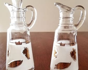 Anchor hocking starlyte cruet set
