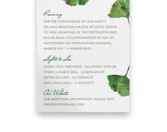 Garden Enclosure Card/Wedding Invitation Suite/Wedding Invites/Invitation Suites/Green/Watercolor/Script/Floral/Greenery/Summer/Spring