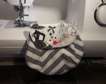 Clutch bag for makeup or other accessories