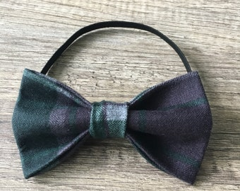 Plaid Forest Dog/Cat Bow Tie!