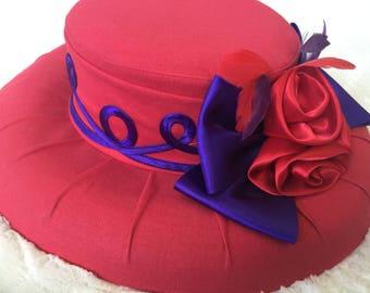 Spanish Rose Hat