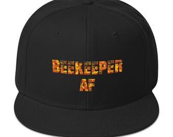 Beekeeper I Love Bees Funny Honey Farmer Cap Bee Lover Apiarist Snapback Hat