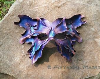 Purple Great Fairy Leather Mask