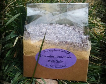 lavender lemonade bath salts (really big)