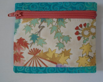 Handmade Large Rosary  Zip Pouch