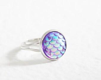 Anillo de sirena púrpura, anillo de dragón
