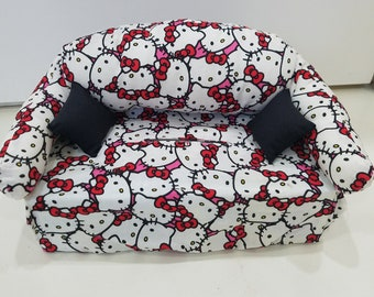 Hello Kitty Head Tissue Box Couch Cover