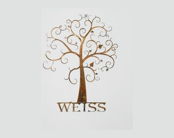 Custom Family Tree - Wall Art