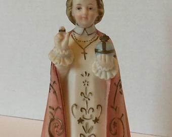 Vintage Infant of Prague Figurine