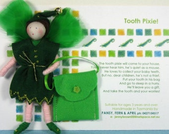 Tooth Pixie Doll Set