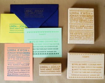 Ace Invitation Suite Rubber Stamps