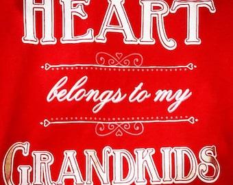 My heart belong to my Grandkids