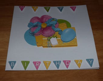 RELIEF THEME 'BIRTHDAY CHILD' CARD