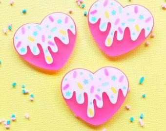 Melt My Heart Ring/Pin