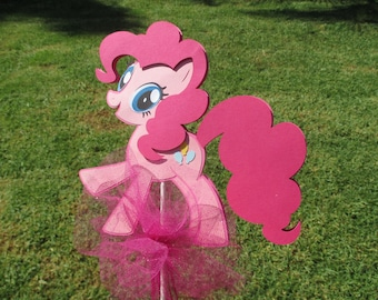 Pony Party Centerpiece or Cake topper