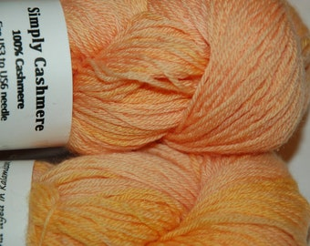 Studio June Yarn Simply Cashmere - 100% Cashmere,  Color:  A Drop of Golden Sun