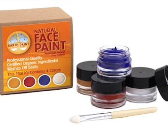 Natural Face Paint Kit - Mini