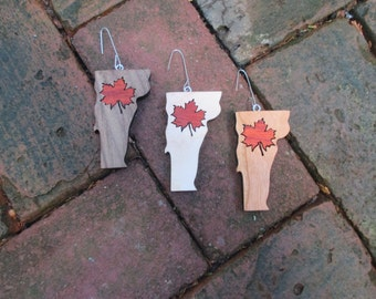 Vermont Maple Leaf ornament.