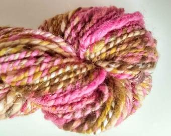 Hand Spun Yarn in Neapolitan
