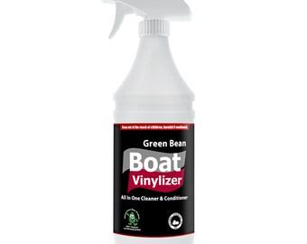 Natural Vinyl, Rubber Cleaner & Conditioner, Boat Vinylizer 32 oz