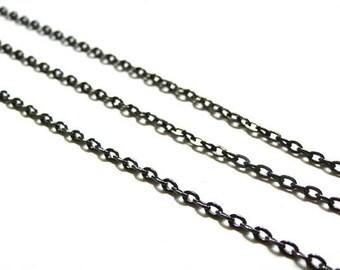 Chain gunmetal Metalgun 1 meter