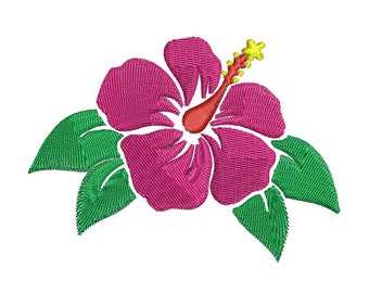 Embroidery Flowers - Machine Embroidery Designs - 3 Sizes - Instant Download