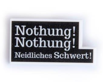 "Broche Ópera - Nothung! Nothung! Neidliches Schwert! - ""Siegfried"", Richard Wagner"