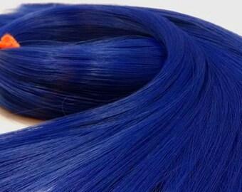 Tardis Dark Blue Nylon Doll Hair Hank for Rerooting Barbie® Monster High® Ever After High® My Little Pony Fashion Royalty Disney
