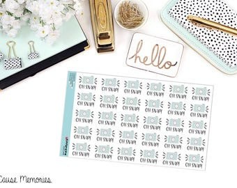 OH SNAP! Paper Planner Stickers