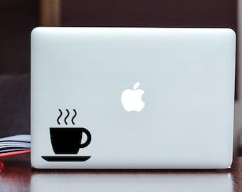 Coffee Decal/Sticker - Morning - Vinyl Decal/Sticker Choose Size and Color