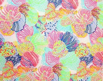 Lilly Pulitzer Fabric Dobby Cotton Roar of the Seas