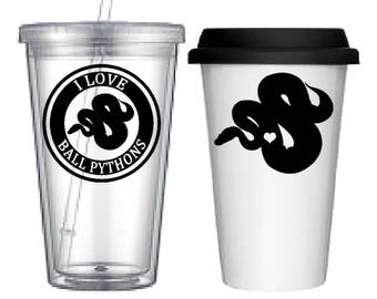 Cup:Ball Python(4 designs to choose from!)