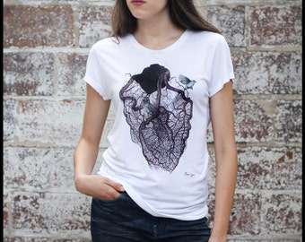 """T-Shirt woman """"The cage"""""""