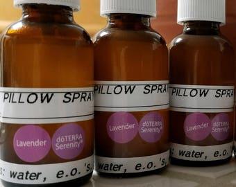 Essential Oil Pillow Spray