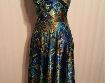 Alyn Paige Halter Dress. Size 7/8 Bust 34 Waist 28