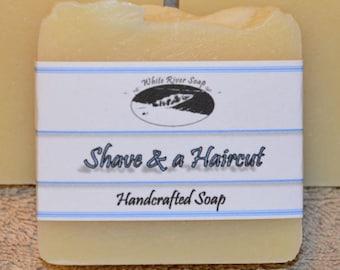 Potpurri Handmade Soap:  Shave and a Haircut