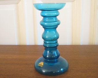Glass vase from Ingrid glass from the 60s